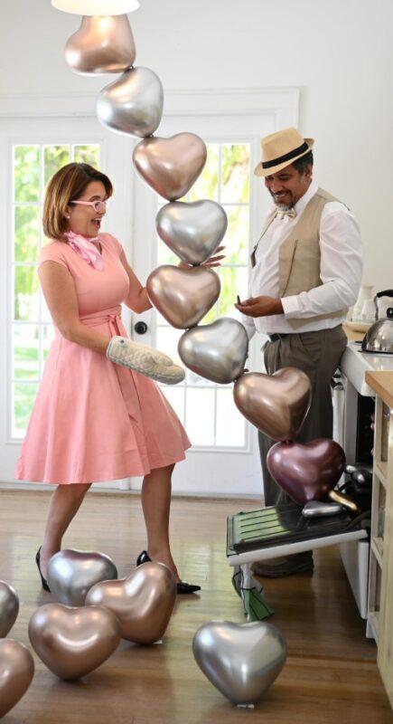 Shiny heart 6 - Balloosn by Luz Paz